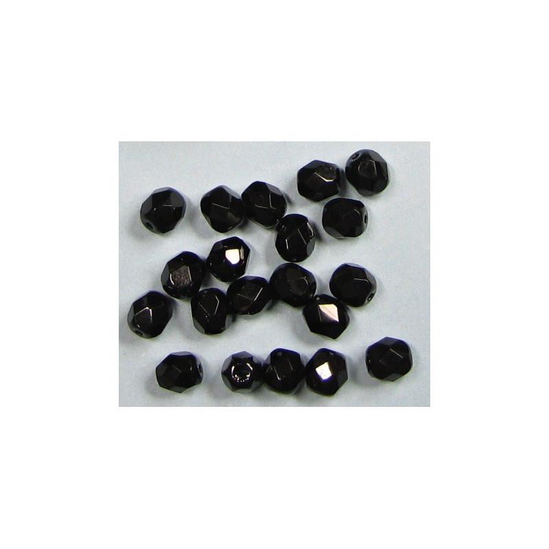 6mm, černá, cena za 20ks