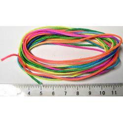 Nylonový provázek 1mm, barevný (1m)