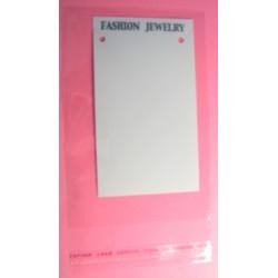 Papírová karta 9,5x5,5cm + celofanový pytlík (5ks)