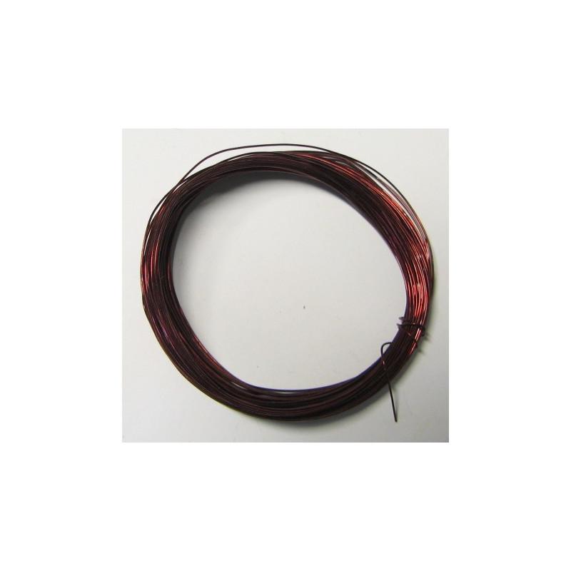 Měděný lakovaný drát 0,37mm, návin 10m
