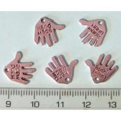 Hand Made ruka 12,5x13mm