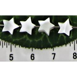Perleťová hvězdička 7mm (50ks)