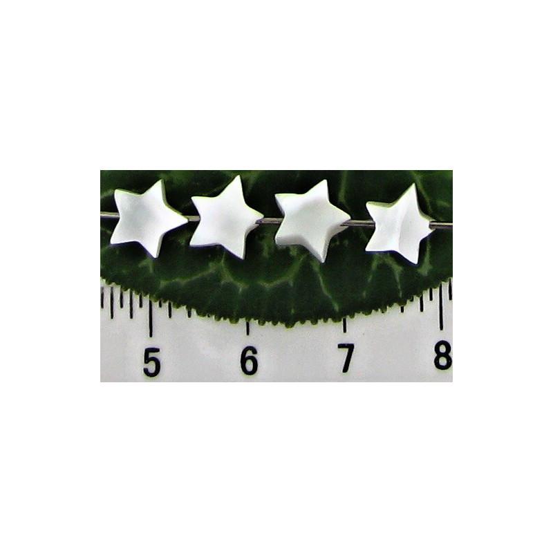 Perleťová hvězdička 7mm (10ks)
