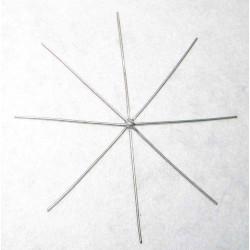 Hvězda - základ (kostra) 10cm