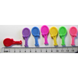 Tenisové raketky, 7 barev x2ks