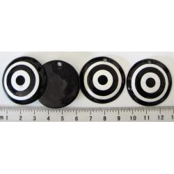 Plastové kolečko - terčík, 33mm, cena za 1ks