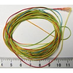 Nylonová šňůrka, 0,5mm, barevná, cívka 250m